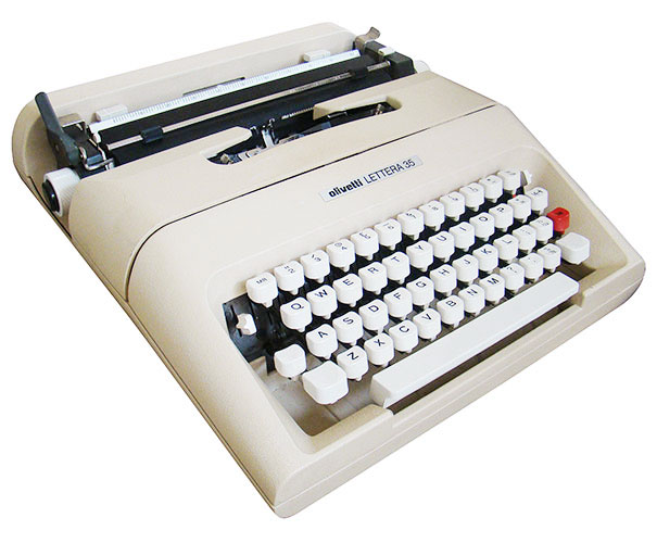 Olivetti-Lettera-35-vintage-anni-settanta