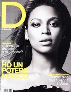 D Repubblica della donne magazine anni 90
