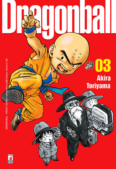 Dragon-ball fumetto anni 90