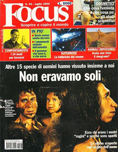 Focus magazine anni 90