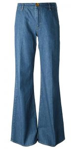 pantaloni zampa elefante anni 70