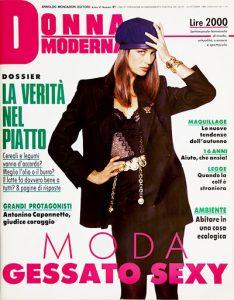 Donna Moderna magazine anni 90